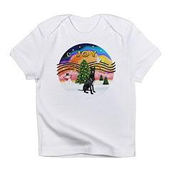 XMusic2-GreatDane (blk-cr) Infant T-Shirt