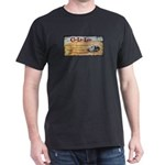 Iconic Clam Lake Lodge Dark T-Shirt