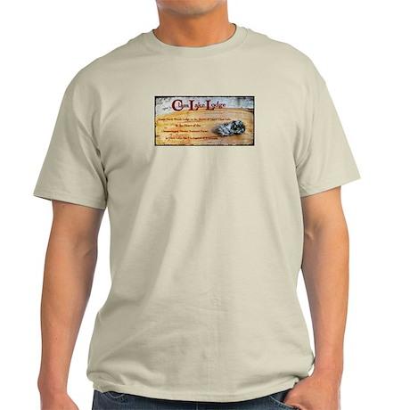 Iconic Clam Lake Lodge Light T-Shirt