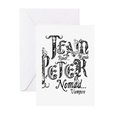 Team Peter TNFM Greeting Card