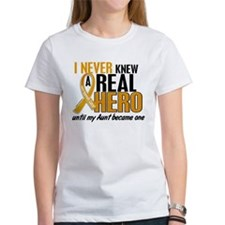 Never Knew a Hero 2 Appendix Cancer Tee