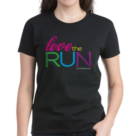 Love the Run Women's Dark T-Shirt