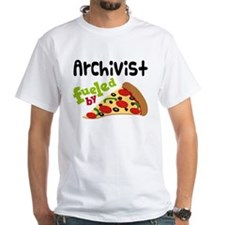 Archivist Funny Pizza Shirt