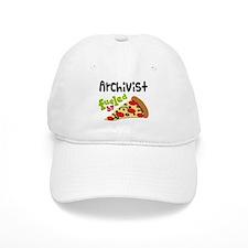 Archivist Funny Pizza Baseball Cap