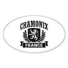 Chamonix France Decal