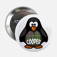 "Cooper Tartan Penguin 2.25"" Button"