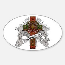 Cameron Tartan Cross Decal