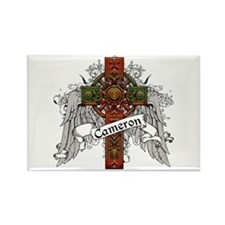 Cameron Tartan Cross Rectangle Magnet