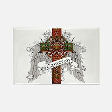 Cameron Tartan Cross Rectangle Magnet