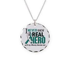 Never Knew a Hero 2 Cervical Cancer Necklace