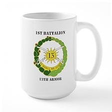 DUI - 1st Battalion, 13th Armor with Text Mug