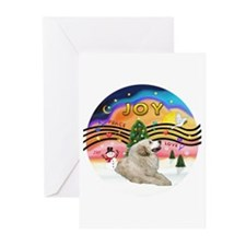 XMusic2-GreatPyrenees 1 Greeting Cards (Pk of 20)