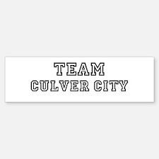 Team Culver City Bumper Bumper Bumper Sticker