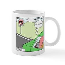 No Squid Zone Mug