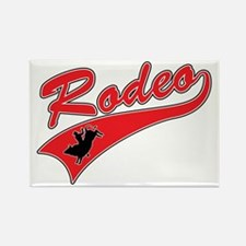 Rodeo (red) Rectangle Magnet