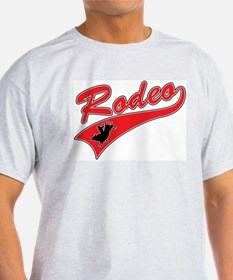 Rodeo (red) Ash Grey T-Shirt