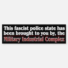 Fascist Police State Bumper Bumper Sticker