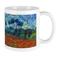 Van Gogh - Poppy Field Small Mug