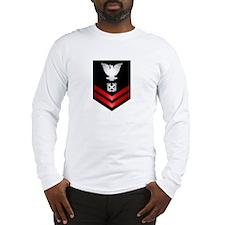 Navy PO2 Boatswain's Mate Long Sleeve T-Shirt