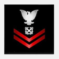 Navy PO2 Boatswain's Mate Tile Coaster