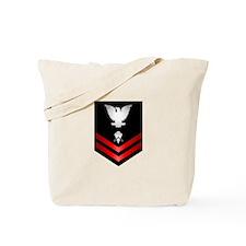 Navy PO2 Builder Tote Bag