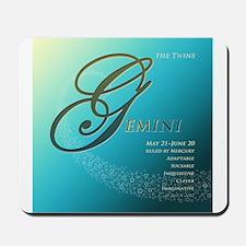 Star Struck Gemini Mousepad