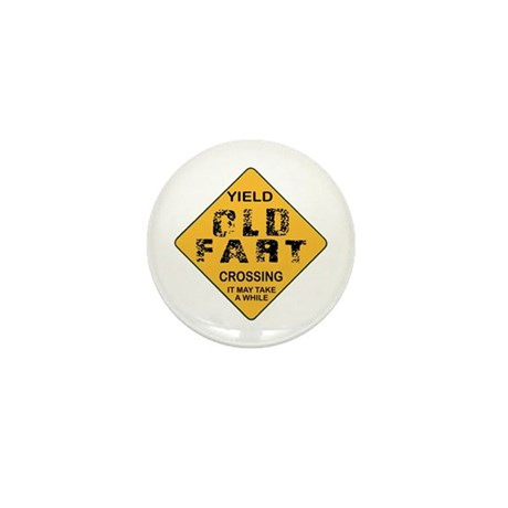 Old Fart Mini Button (100 pack)