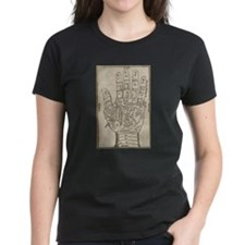 Palmistry Chart.png Tee