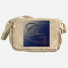 Star Struck Cancer Messenger Bag