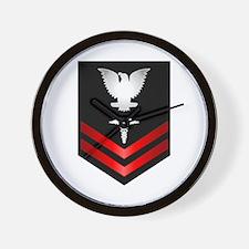Navy PO2 Corpsman Wall Clock