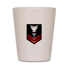 Navy PO2 Corpsman Shot Glass