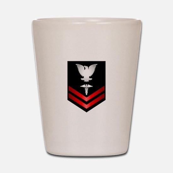 Navy PO2 Corpsman Shot Glass