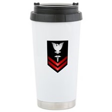 Navy PO2 Corpsman Travel Coffee Mug