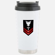 Navy PO2 Corpsman Travel Mug