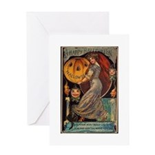Vintage Halloween Card Greeting Card