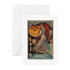 Vintage Halloween Card Greeting Cards (Pk of 10)