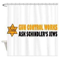 Gun Control Works Shower Curtain