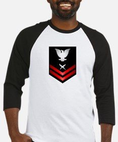 Navy PO2 Cryptologic Technician Baseball Jersey