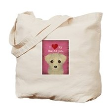 Maltipoo Tote Bag