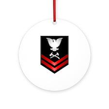 Navy PO2 Damage Controlman Ornament (Round)