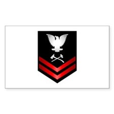 Navy PO2 Damage Controlman Decal