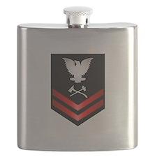 Navy PO2 Damage Controlman Flask