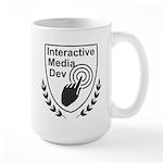 Interactive Media Dev Meetup Full Logo Large Mug