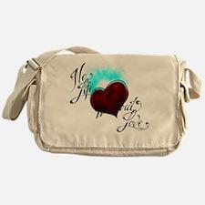 No Life Messenger Bag