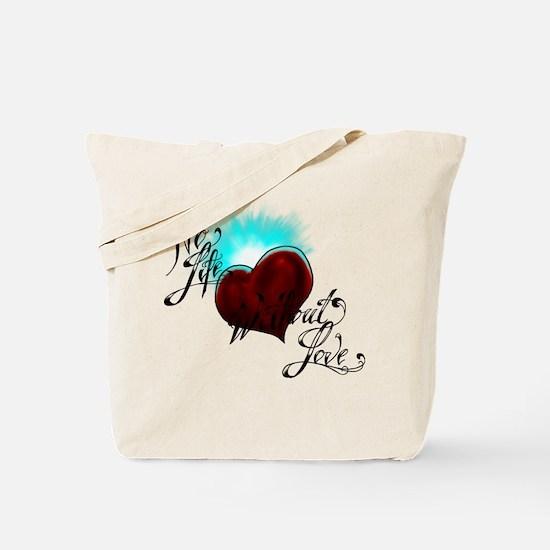No Life Tote Bag