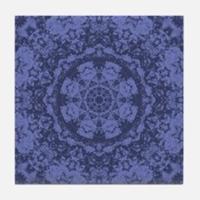 Blues Print Tile Coaster