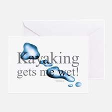 Makes-me-wet Greeting Cards