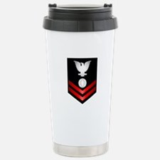 Navy PO2 Electrician's Mate Travel Mug