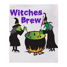 Witches Brew Throw Blanket