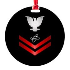 Navy PO2 Electronics Technician Ornament